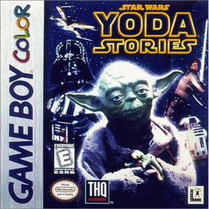 Star Wars Yoda Stories - Game Boy Color Game
