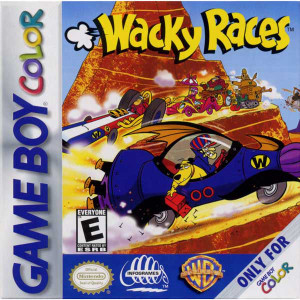 Wacky Races - Game Boy Color Game