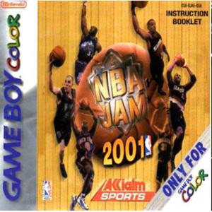 NBA Jam 2001 - Game Boy Color