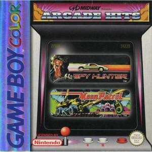 Midway Arcade Hits Moon Patrol Spy Hunter - Game Boy Color