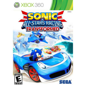 Sonic All Stars Racing Transformed - Xbox 360 Game