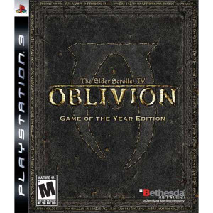 Oblivion Elder Scrolls IV Game of the Year - PS3 Game