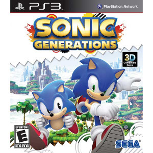 Sonic Generations - PS3 Game