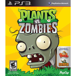 Plants Vs. Zombies - PS3 Game