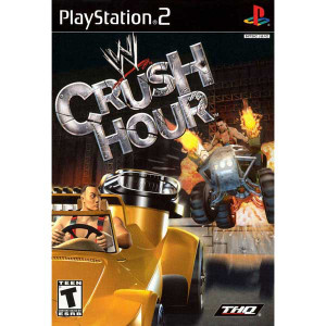 WWE Crush Hour - PS2 Game