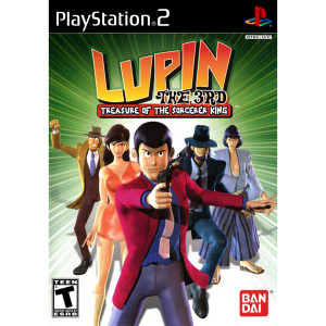 Lupin The 3rd Treasure of the Sorcerer King - PS2 Game