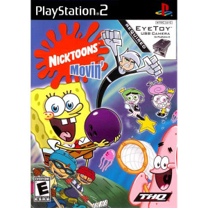 Nicktoons Movin' - PS2 Game
