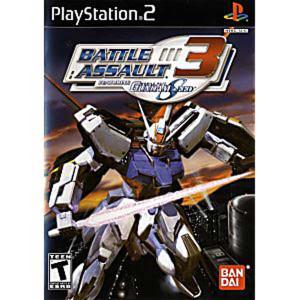Battle Assault 3 Featuring Gundam SEED - PS2  Game