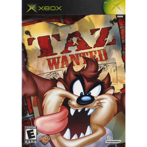 Taz Wanted - Xbox Game