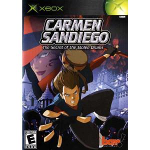 Carmen Sandiego The Secret of the Stolen Drums - Xbox Game