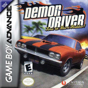 Demon Driver Time to Burn Rubber - Game Boy Advance Game