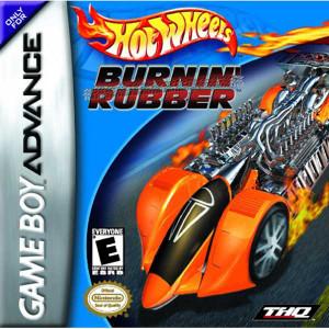 Hot Wheels Burnin' Rubber - Game Boy Advance Game