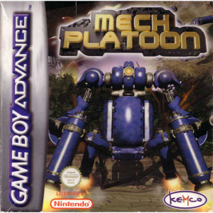 Mech Platoon - Game Boy Advance Game