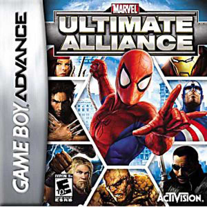 Marvel Ultimate Alliance - Game Boy Advance Game