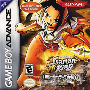 Shaman King Soaring Hawk - Game Boy Advance Game