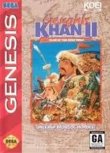 Complete Genghis Khan II - Genesis Game