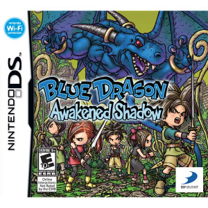 Blue Dragon Awakened Shadow - DS Game