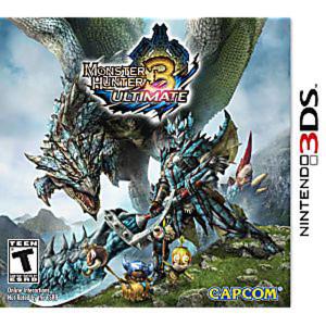 Monster Hunter 3 Ultimate - 3DS Game