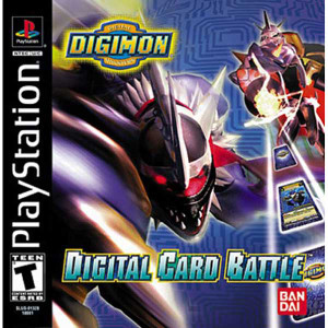 Digital Card Battle - PS1 Game