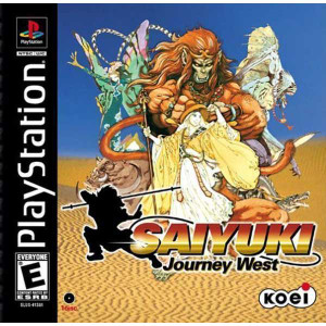 Saiyuki Journey West - PS1 Game