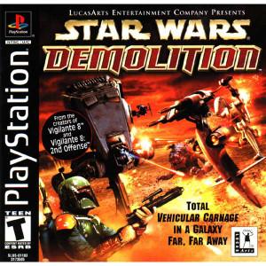 Star Wars Demolition - PS1 Game