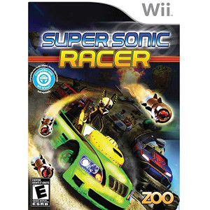 Super Sonic Racer - Wii Game
