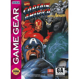 Captain America and the Avengers - Game Gear Game