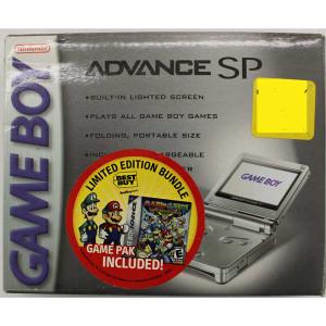 Complete Game Boy Advance SP System Silver Best Buy Bundle