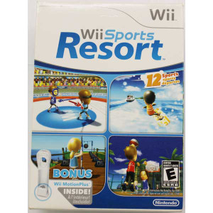 New Factory Sealed Wii Sports Resort - Wii Game