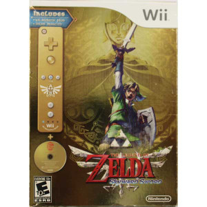 New Factory Legend of Zelda Skyward Sword Bundle - Wii Game