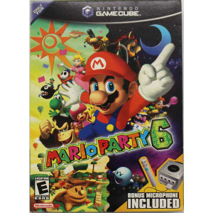 Complete Mario Party 6 Bundle - Gamecube Game