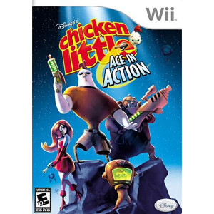 Disney Chicken Little Ace in Action - Wii Game