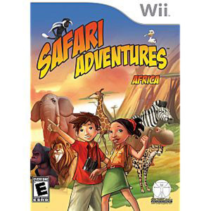 Safari Adventure Africa - Wii Game