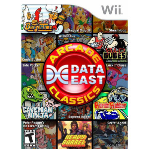 Data East Arcade Classics - Wii Game