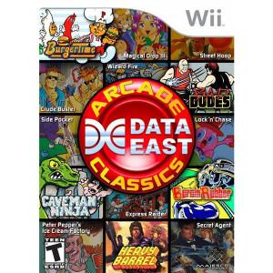 Data East Arcade Classics - Wii Game
