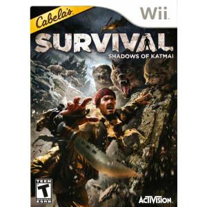 Cabela's Survival Shadows of Katmai - Wii Game