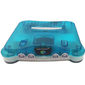 N64 Console Clear Blue / Clear