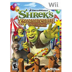 Shrek's Carnival Craze Party Games - Wii Game