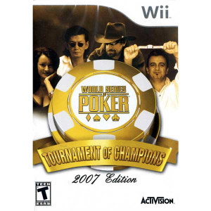 World Series of Poker Tournament of Champions 2007 Edition - Wii Game