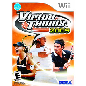 Virtua Tennis 2009 - Wii  Game