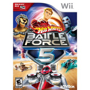 Hot Wheels Battle Force 5 - Wii Game