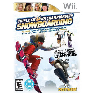 Triple Crown Championship Snowboarding - Wii Game