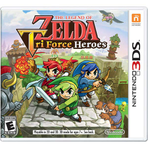 Zelda Tri Force Heroes - 3DS Game