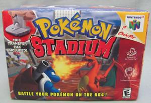 Pokemon Stadium N64 - Empty N64 Box