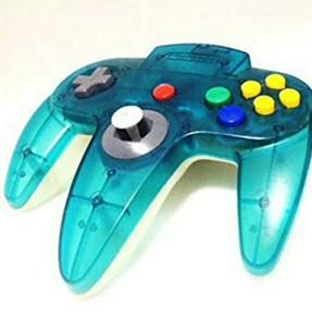 Original Controller Blue on Clear - Nintendo 64