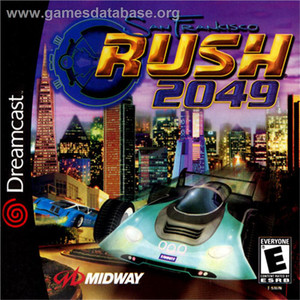 San Francisco Rush 2049 - Dreamcast Game