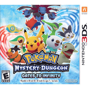 Pokemon Mystery Dungeon Gates to Infinity - 3DS Game