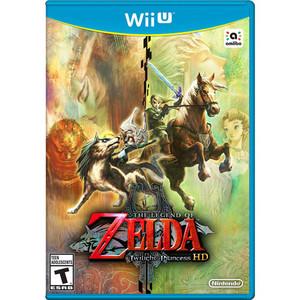 Legend of Zelda Twilight Princess HD - Wii U Game