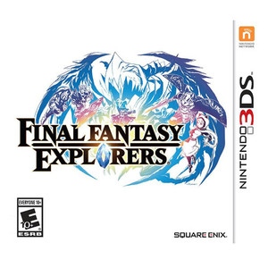 Final Fantasy Explorers - 3DS Game