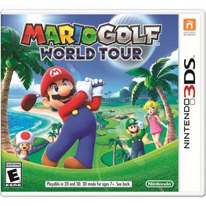 Mario Golf World Tour - 3DS Game